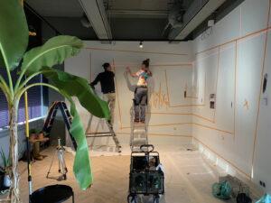 schilderen met laser