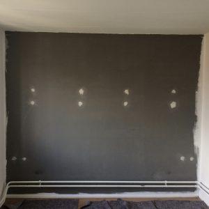 lelijke muur mooi maken met verf
