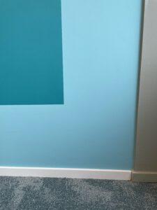 Strakke lijnen schilderen muren