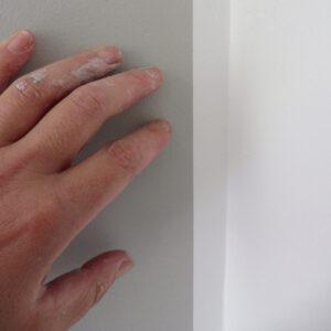 strakke lijn schilderwerk