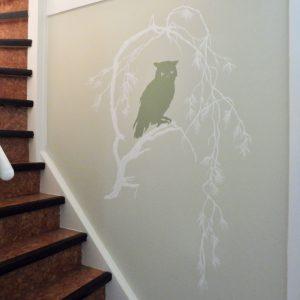 silhouette dieren uil