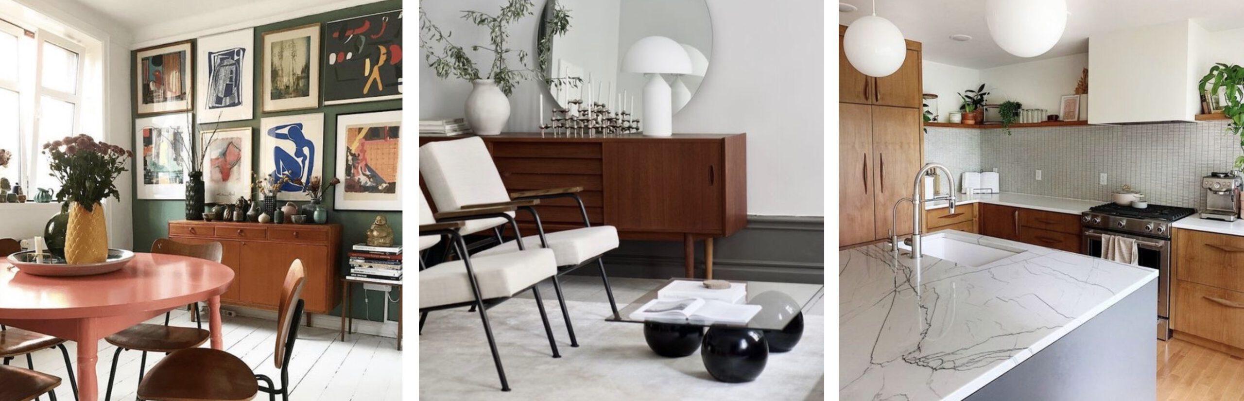 interieurstijl mid century modern vintage