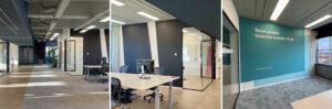 kleurvlakken kantoor of bedrijf